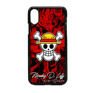 One Pice Monkey D Luffy iPhone X Case | Frostedcase