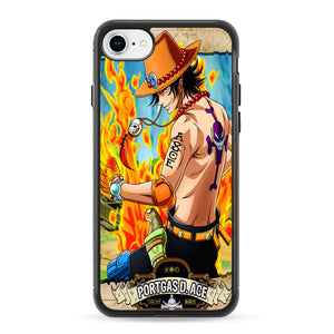 One Pice Portgas D Ace iPhone 8 Case | Frostedcase