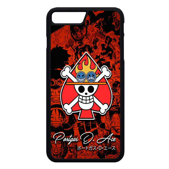 One Piece Ace Portgas iPhone 7 Plus Case | Frostedcase