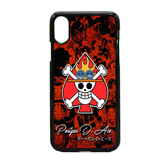 One Piece Ace Portgas iPhone X Case | Frostedcase
