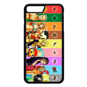 buy online 35098 064f5 One Piece Anime iPhone 7 Plus Case | Frostedcase