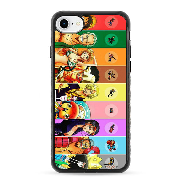 One Piece Anime iPhone 8 Case | Frostedcase