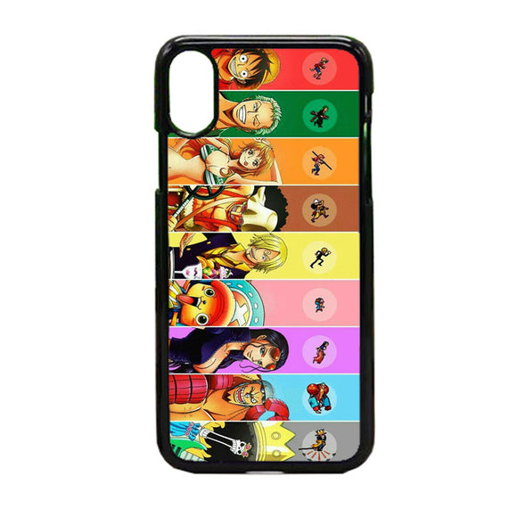 One Piece Anime iPhone X Case | Frostedcase