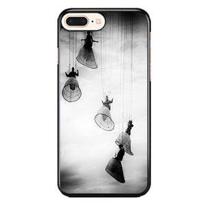 Opera Doll Hanging Black White iPhone 8 Plus Case | Frostedcase