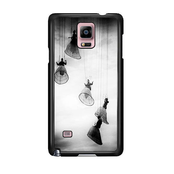 Opera Doll Hanging Black White Samsung Galaxy Note 4 Case | Frostedcase