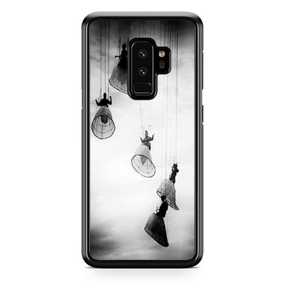 Opera Doll Hanging Black White Samsung Galaxy S9 Plus Case | Frostedcase