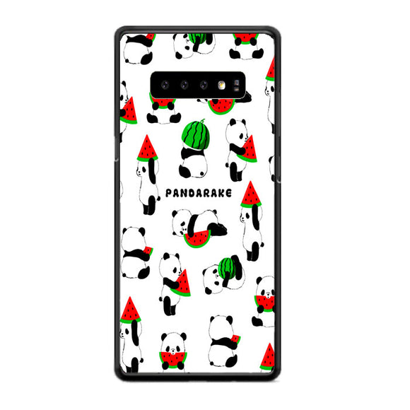 Pandarake Watermelon Art Samsung Galaxy S10 Case | Frostedcase