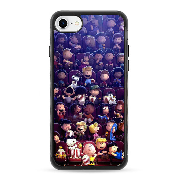 Peanuts Movie 2015 Poster iPhone 8 Case | Frostedcase