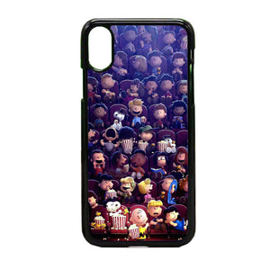 Peanuts Movie 2015 Poster iPhone X Case | Frostedcase