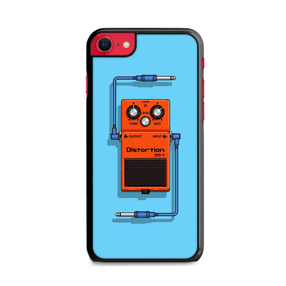 Pedal Effect For Guitar Distortion iPhone SE Case | Frostedcase