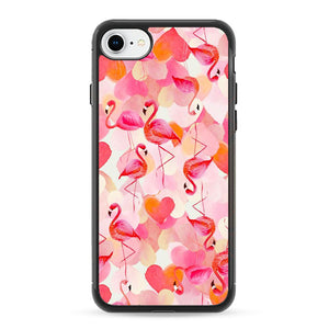 Pembe Flamingo iPhone 8 Case | Frostedcase
