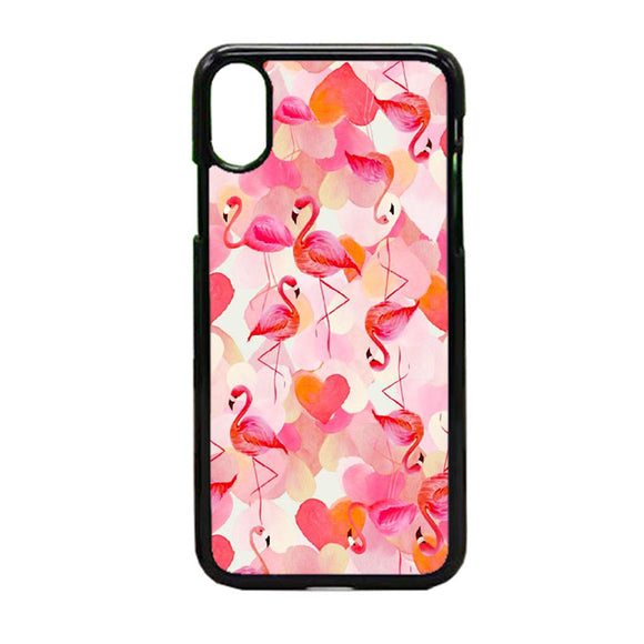 Pembe Flamingo iPhone X Case | Frostedcase