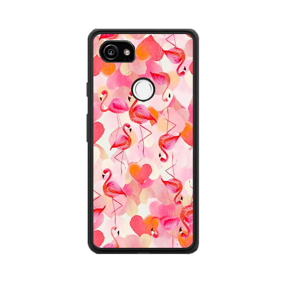 Pembe Flamingo Google Pixel 2 XL Case | Frostedcase