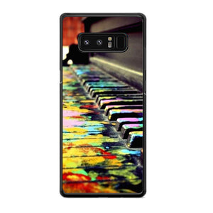 Piano Art Samsung Galaxy Note 8 Case | Frostedcase