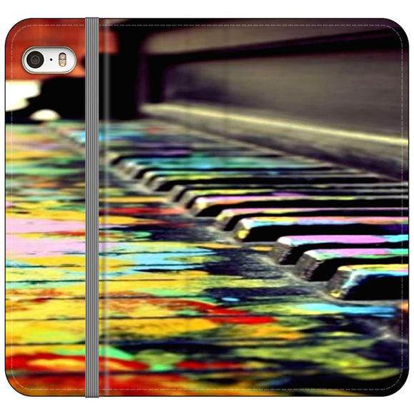 Piano Art iPhone 5|5S|SE Flip Case | Frostedcase