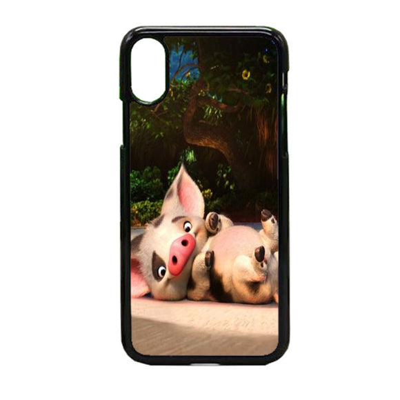 Pig Moana iPhone X Case | Frostedcase