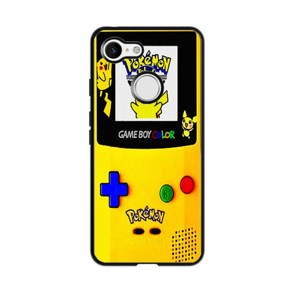 Pikachu Gameboy Texture Google Pixel 3 Case | Frostedcase