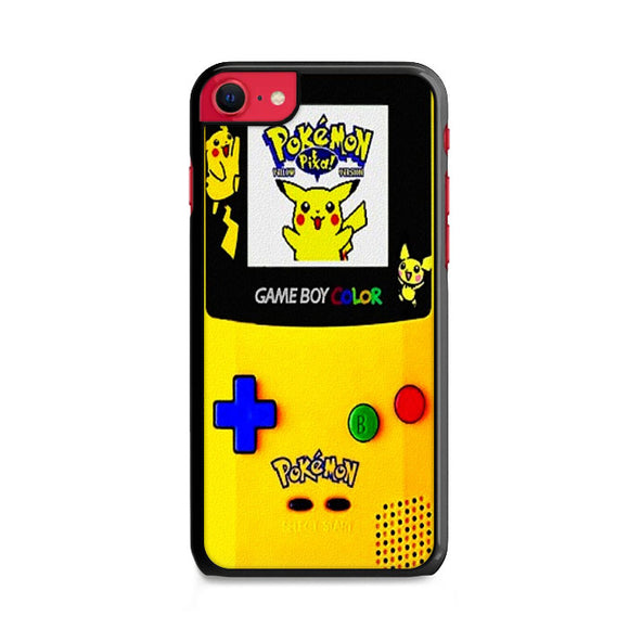 Pikachu Gameboy Texture iPhone SE Case | Frostedcase