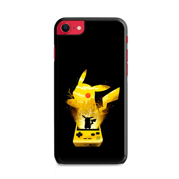 Pikachu Out Of Gameboy iPhone SE Case | Frostedcase