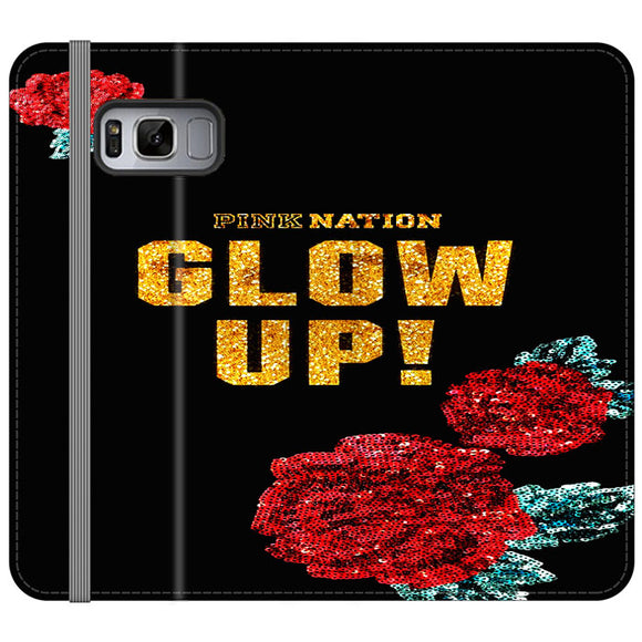 Pink Nation Samsung Galaxy S8 Flip Case | Frostedcase