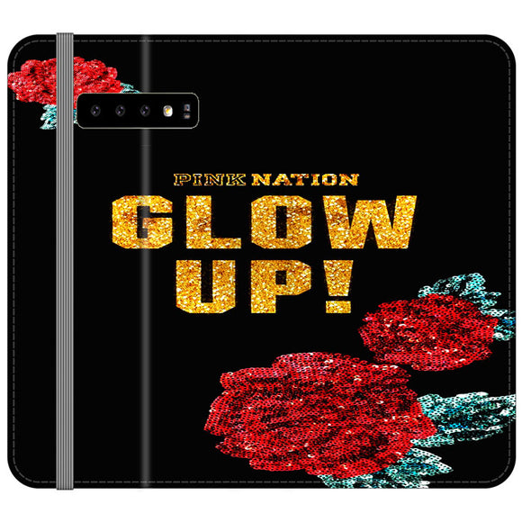 Pink Nation Samsung Galaxy S10 Flip Case | Frostedcase