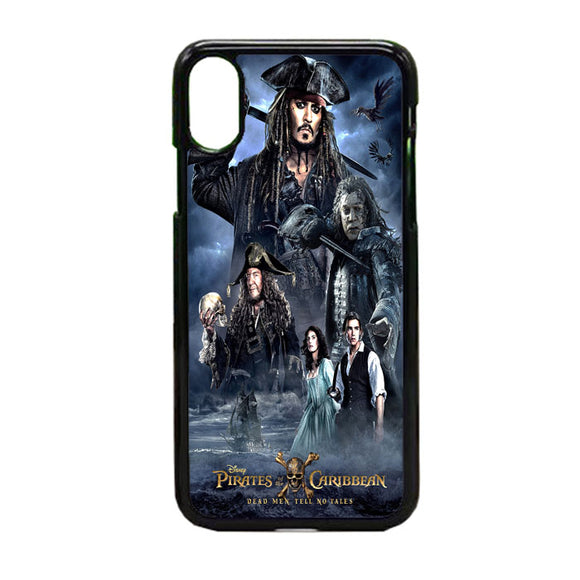 Pirates Of The Caribbean Poster iPhone XS Case | Frostedcase