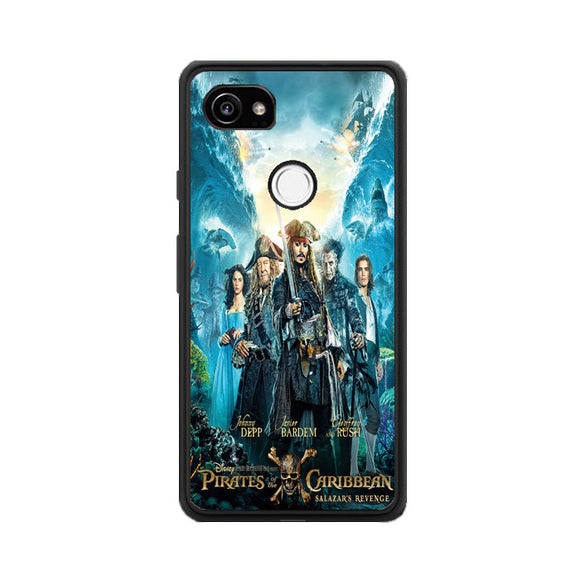 Pirates Of The Caribbean Salazars Revenge Google Pixel 2 XL Case | Frostedcase