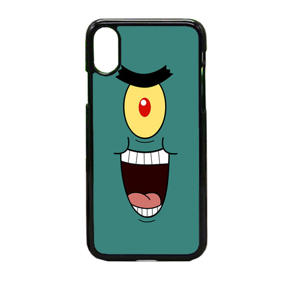 Plankton Face iPhone X Case | Frostedcase