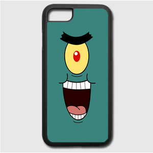 Plankton Face iPhone 7 Case | Frostedcase