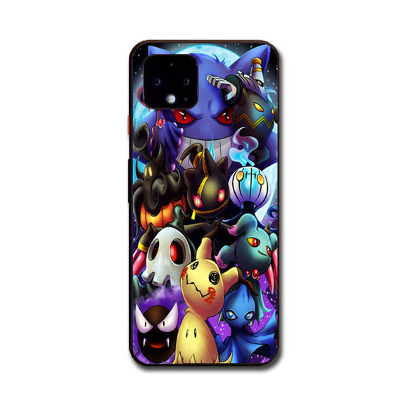 Pokemon Ghosts Google Pixel 4 Case | Frostedcase