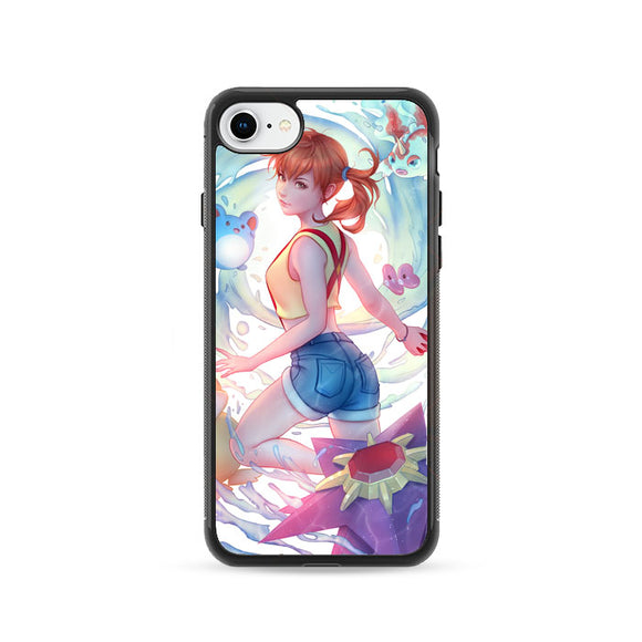 Pokemon Misty Art iPhone 8 Case | Frostedcase
