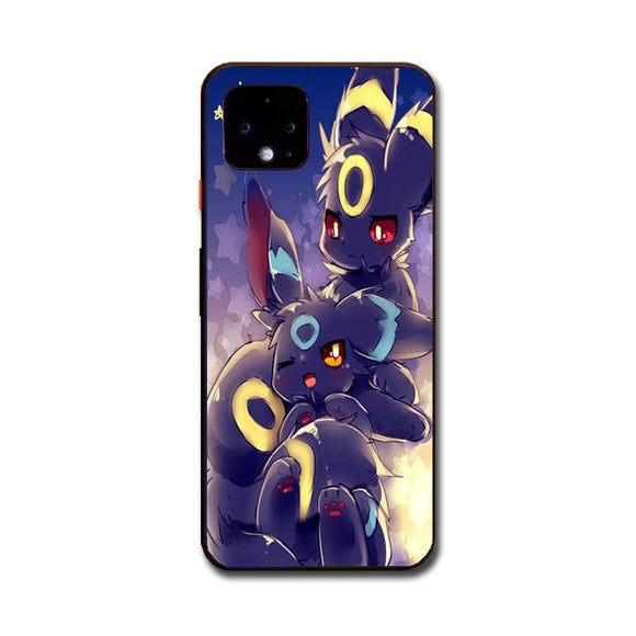 Pokemon Shiny Umbreon Doodle Google Pixel 4 Case | Frostedcase