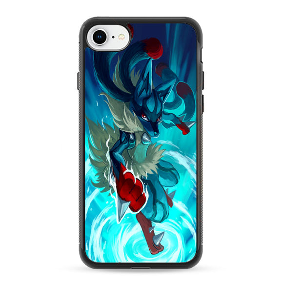 Pokemon Mega Lucario iPhone 8 Case | Frostedcase