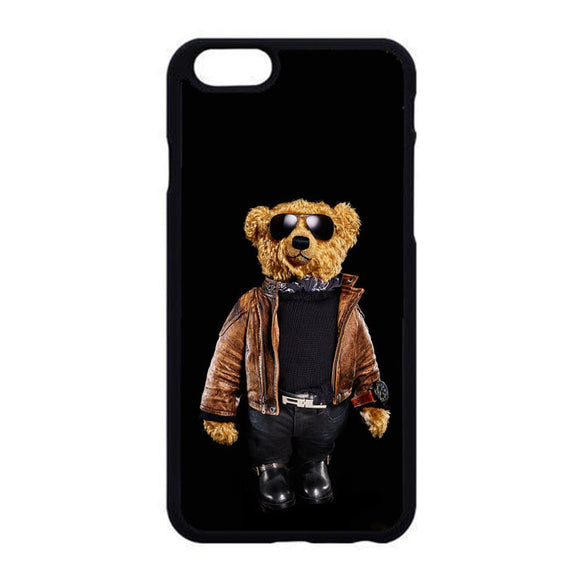 Polo Bear Black iPhone 6|6S Case | Frostedcase