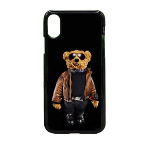 pretty nice 5046d 827c8 Polo Bear Black iPhone X Case | Frostedcase