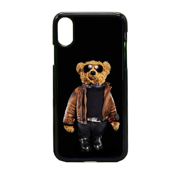 Polo Bear Black iPhone X Case | Frostedcase