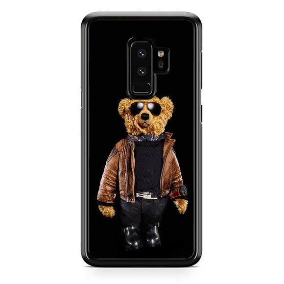 Polo Bear Black Samsung Galaxy S9 Plus Case | Frostedcase