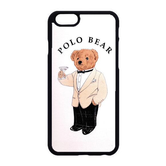 Polo Bear White Suit iPhone 6|6S Case | Frostedcase
