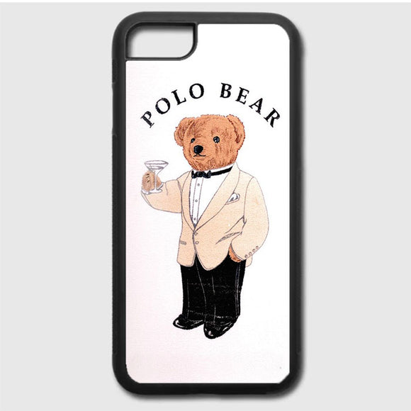 Polo Bear White Suit iPhone 7 Case | Frostedcase
