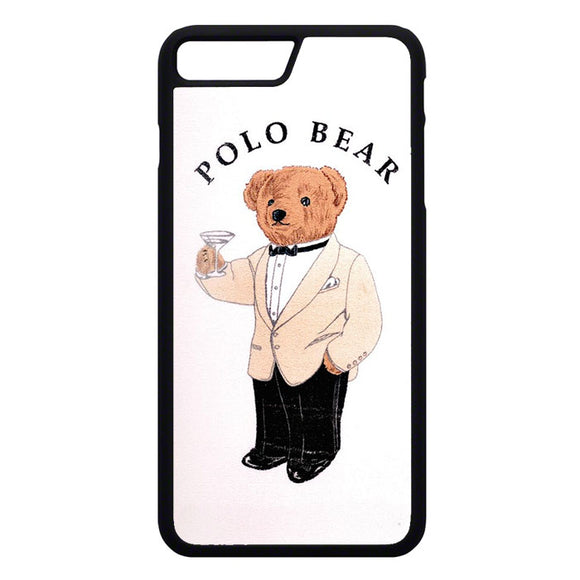 Polo Bear White Suit iPhone 7 Plus Case | Frostedcase