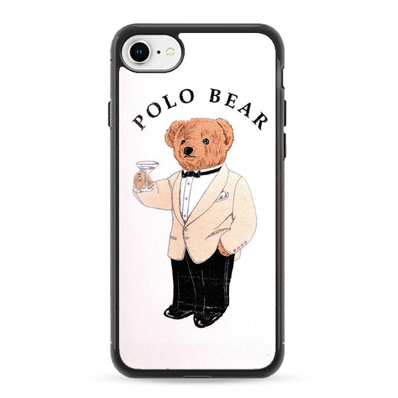 Polo Bear White Suit iPhone 8 Case | Frostedcase