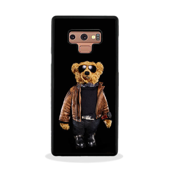 Polo Bear Black Samsung Galaxy Note 9 Case | Frostedcase