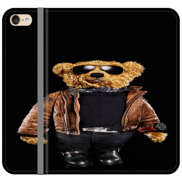 Polo Bear Black iPod 5 Flip Case | Frostedcase