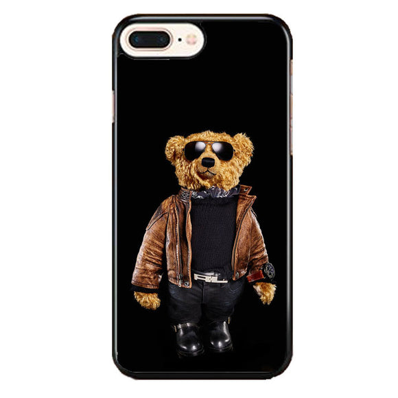Polo Bear Black iPhone 8 Plus Case | Frostedcase