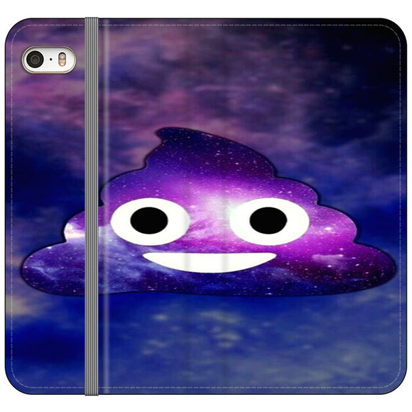 Poop Emoji iPhone 5|5S|SE Flip Case | Frostedcase