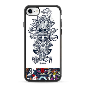 Pop Bikers iPhone 8 Case | Frostedcase