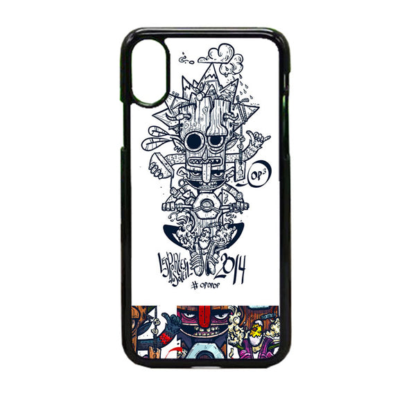Pop Bikers iPhone X Case | Frostedcase
