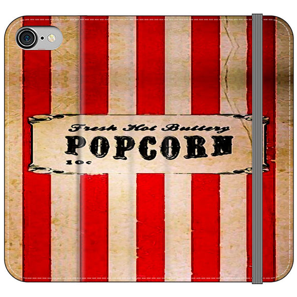 Popcorn Blazer Circus Packing iPhone 8 Flip Case | Frostedcase