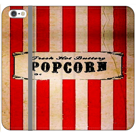 Popcorn Blazer Circus Packing iPhone 6 Plus|6S Plus Flip Case | Frostedcase