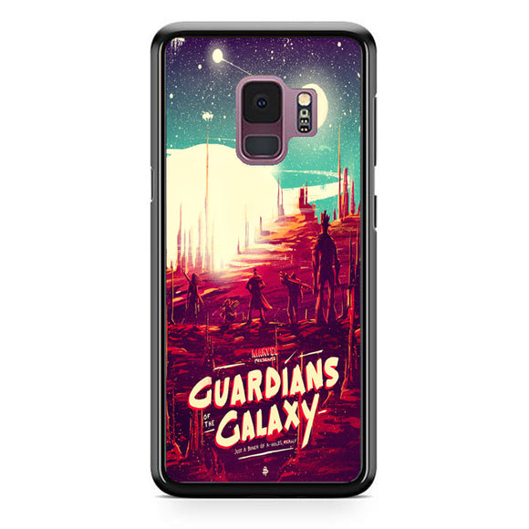 Poster Posse Guardians Of The Galaxy Samsung Galaxy S9 Case | Frostedcase